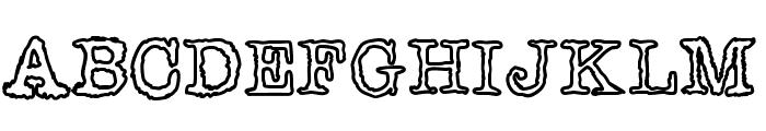 Shiverforyou Font UPPERCASE
