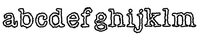 Shiverforyou Font LOWERCASE