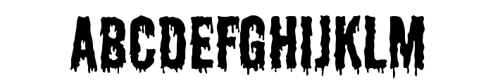 Shlop-Regular Font LOWERCASE