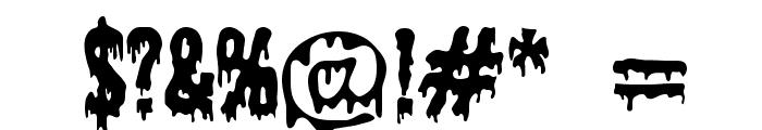 Shlop Font OTHER CHARS