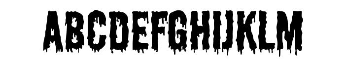 Shlop Font UPPERCASE