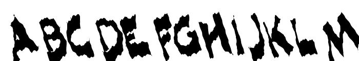 ShlopHappyReMix Font UPPERCASE
