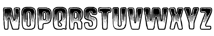 Shock Shimmy Font UPPERCASE