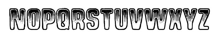Shock Shimmy Font LOWERCASE