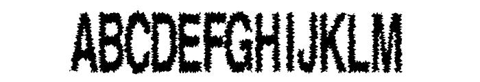 Shock Font UPPERCASE