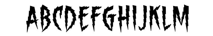 ShockTherapyBB Font UPPERCASE