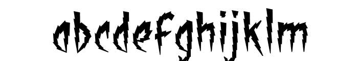 ShockTherapyBB Font LOWERCASE