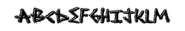 ShockTreatment Font UPPERCASE