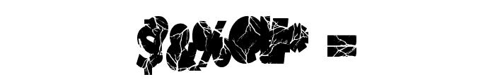 Shockvetica Font OTHER CHARS