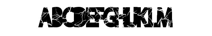Shockvetica Font UPPERCASE