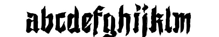 Shodo Gothic Demo Font LOWERCASE