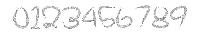 Shoelace FontRegular Font OTHER CHARS