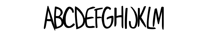 Shoestore Font UPPERCASE