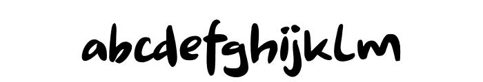 Shoganai DEMO Regular Font LOWERCASE