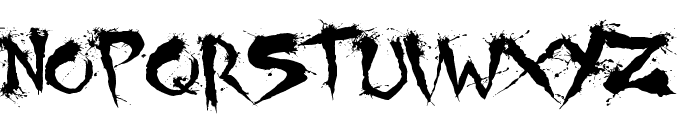 Shoguns Clan Font UPPERCASE