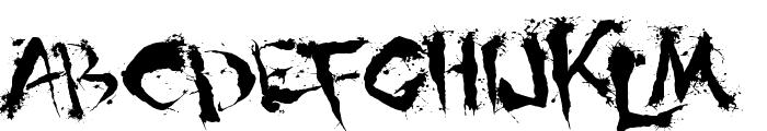 Shoguns Clan Font LOWERCASE