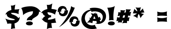 Shojumaru-Regular Font OTHER CHARS