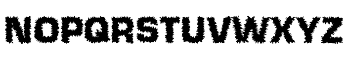Shokkking Medium Font UPPERCASE