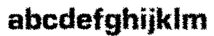 Shokkking Medium Font LOWERCASE