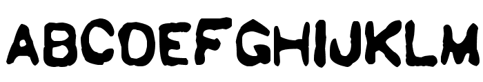 Sholes & Glidden Font UPPERCASE