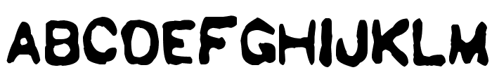 Sholes & Glidden Font LOWERCASE