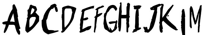 Shonen Punk! Custom Bold Bold Font LOWERCASE