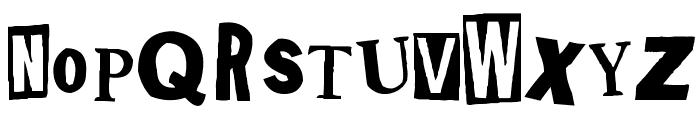 Shoplifter Font UPPERCASE