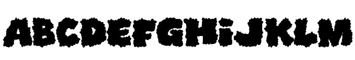 Shoplifters unite Font UPPERCASE
