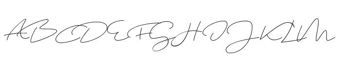 Shopping Script Demo Font UPPERCASE