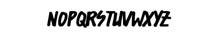 Shorelines Display Font UPPERCASE