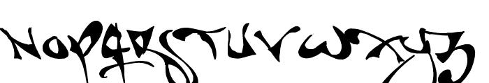 Shortbrush Font UPPERCASE