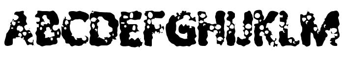 ShotGuns Font UPPERCASE