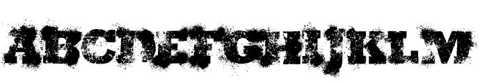 ShotgunWedding Font UPPERCASE