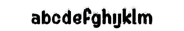 Shotgun? Font LOWERCASE