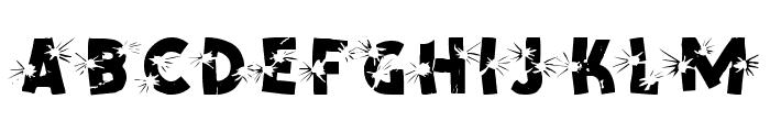 Shotling Font UPPERCASE