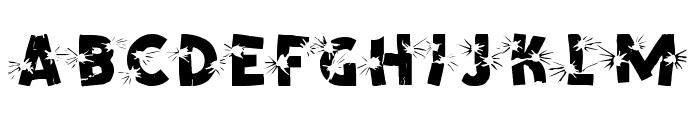 Shotling Font LOWERCASE