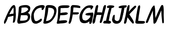 ShoujoPop!-BoldItalic Font UPPERCASE