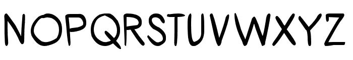 ShoujoPop! Font UPPERCASE