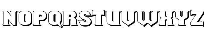 ShouldveKnownShaded-Regular Font UPPERCASE