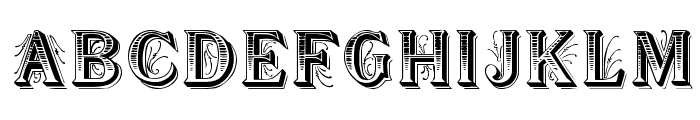 Showboat Font UPPERCASE