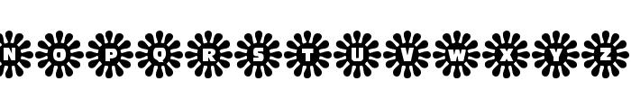 Shower Flower Font UPPERCASE
