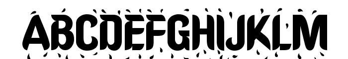 Shower Font UPPERCASE