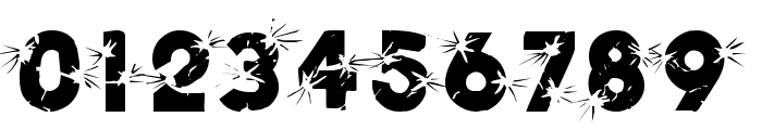 Shrapnel Font OTHER CHARS