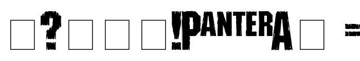 Shredded Font OTHER CHARS