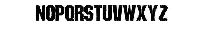 Shredded Font LOWERCASE