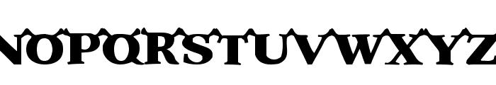 Shrek Font UPPERCASE