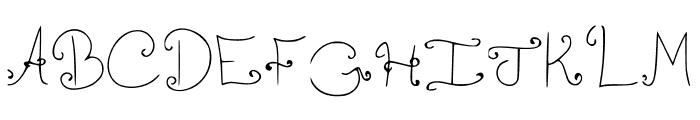 Shrimp FancyCaps Medium Font UPPERCASE