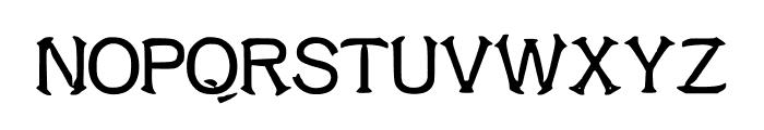 ShrimpFriedRiceNo1 Font UPPERCASE