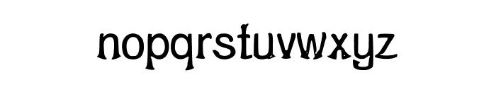 ShrimpFriedRiceNo1 Font LOWERCASE