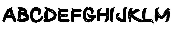 ShunSet-Regular Font LOWERCASE